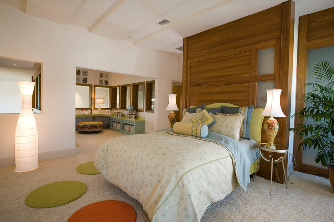Contemporary Bedroom by Charles Clayton Construction Inc