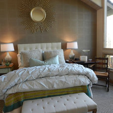 Eclectic Bedroom by Good Manors, Inc.