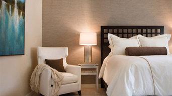 Contemporary Pasadena Condo Guest Bedroom
