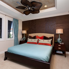 Contemporary Bedroom by Interiors By Agostino's