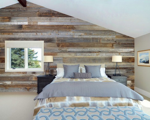 Wood Accent Wall Home Design Ideas Pictures Remodel And