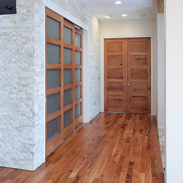 Contemporary Rustic Doors - Master Bedroom Entry