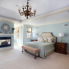 Traditional Bedroom by Neela Woodard Design, LLC