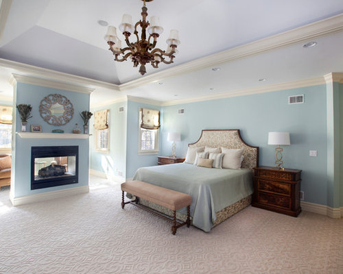 Traditional bedroom design ideas remodels photos with a for Annmarie ruta elegant interior designs