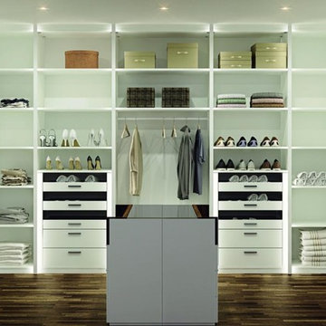 Contemporary Walk In Closets in NYC