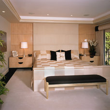 Contemporary Bedroom by Fran Kerzner- DESIGN SYNTHESIS