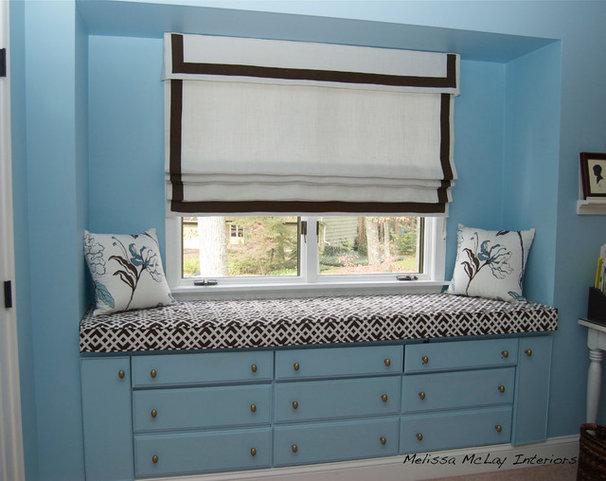 Contemporary Bedroom by Melissa McLay Interiors