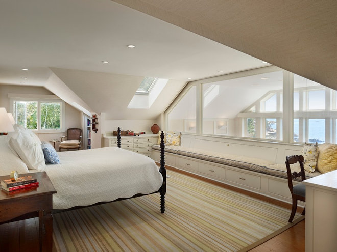 Contemporary Bedroom by M James Architecture