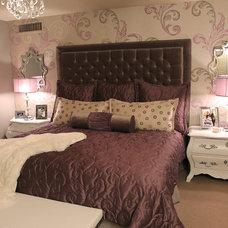 Contemporary Bedroom by ModaScapes Interior Design