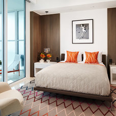 Contemporary Bedroom by Allen Saunders, Inc.