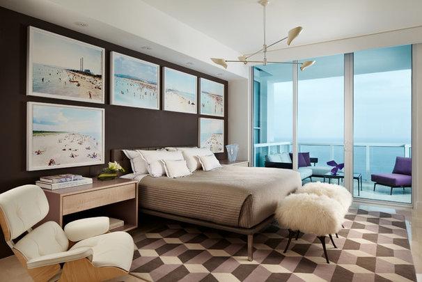 Beach Style Bedroom by Allen Saunders, Inc.