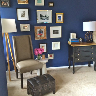Inspiration for an eclectic bedroom remodel in Chicago