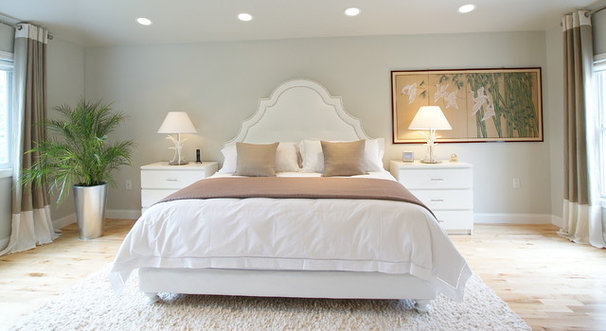 Contemporary Bedroom by Melissa Miranda Interior Design