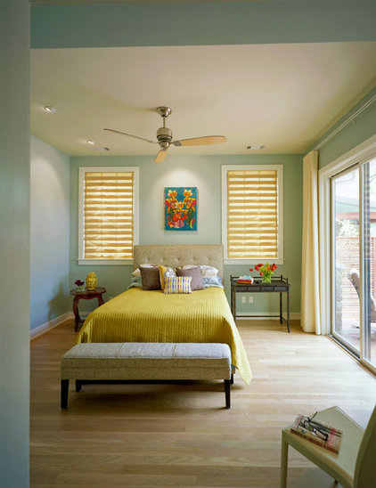 Contemporary Bedroom by CG&S Design-Build