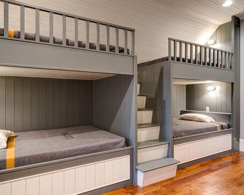 Craftsman guest bedroom design ideas remodels photos for Craftsman bedroom ideas