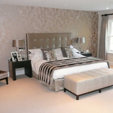 Contemporary Bedroom by Coombe Interiors ltd