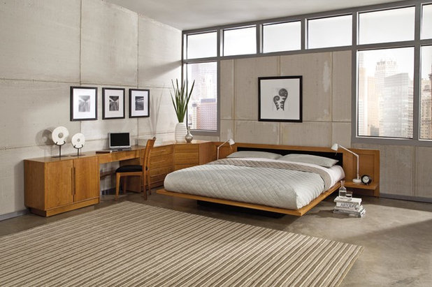 Contemporary Bedroom by VERMONT WOODS STUDIOS