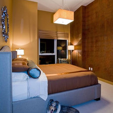 Contemporary Bedroom by Angela Todd Designs