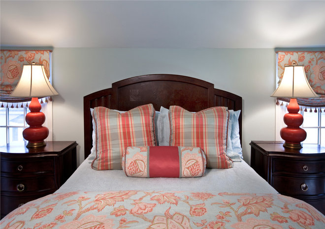 Traditional Bedroom by Paula Caponetti Designs LLC