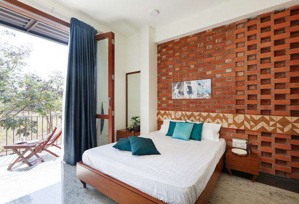 Contemporary Bedroom by Kamat & Rozario Architecture