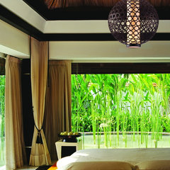 tropical bedroom by Capitol Lighting