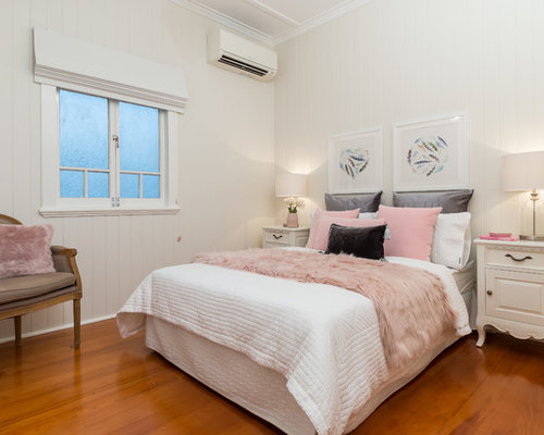 traditional bedroom ideas. Modren Bedroom This Is An Example Of A Traditional Bedroom In Brisbane With Beige Walls  And Medium Hardwood Throughout Traditional Bedroom Ideas