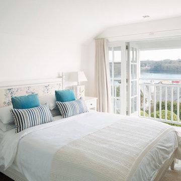Cornish Beach House Master Bedroom