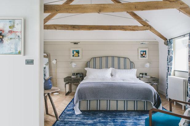 Coastal Bedroom by Helen Bainbridge Interior Design