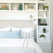 Beach Style Bedroom by Burnham Design