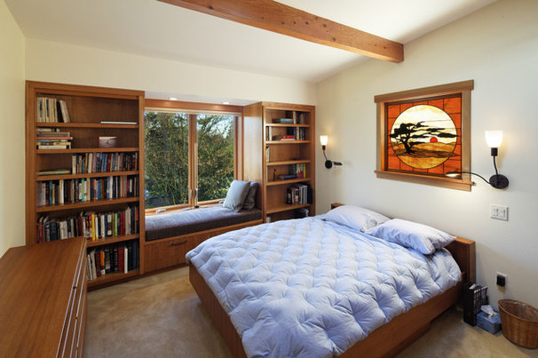 Contemporary Bedroom by Corvallis Custom Kitchens & Baths
