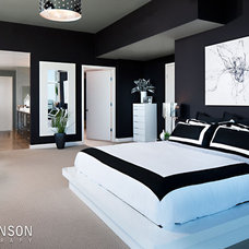 Modern Bedroom by Zack Benson Photography