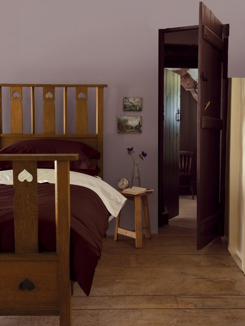 This is an example of a country bedroom in Buckinghamshire Mauve Bedroom Ideas and Photos   Houzz. Mauve Bedroom. Home Design Ideas