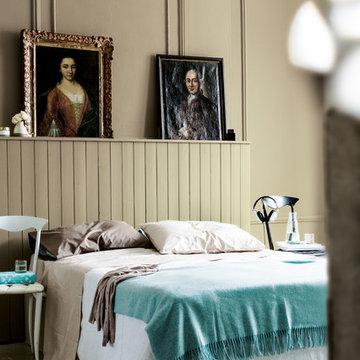 Cosy neutral bedroom