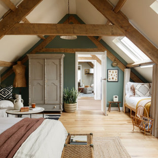 Country bedroom in London.