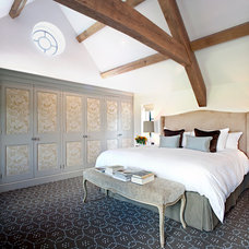 Traditional Bedroom by Charles Bateson Interior Design