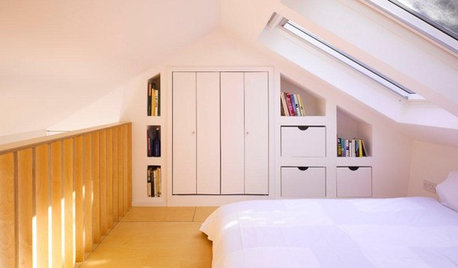 10 Savvy Storage Solutions for Converted Attics