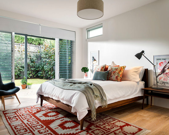 Mid Century Modern Bedroom midcentury modern bedroom design ideas, remodels & photos | houzz