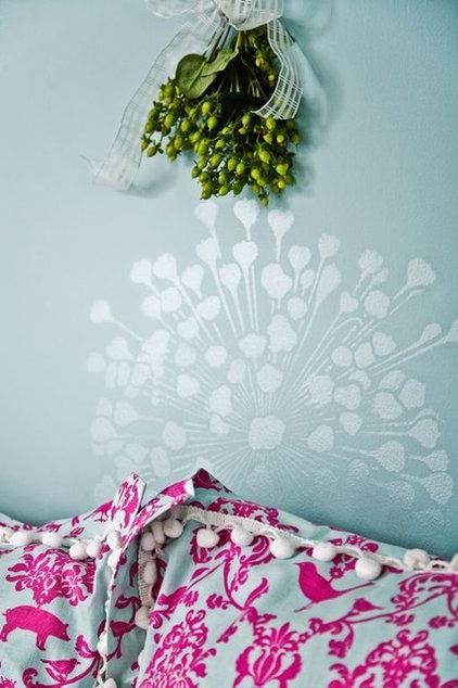 Eclectic Bedroom by Caroline Lizarraga Decorative Artist