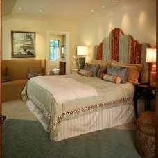Traditional Bedroom by Ekman Design Studio