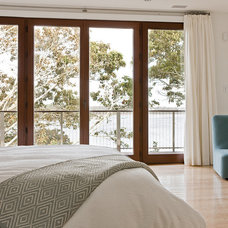 Contemporary Bedroom by Nicholaeff Architecture + Design