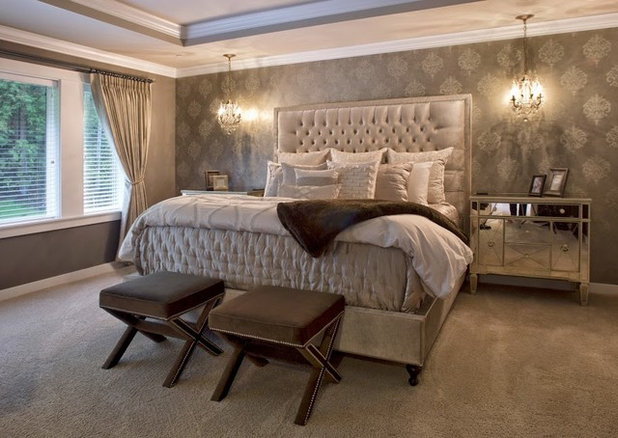 Transitional Bedroom by Studio 212 Interiors