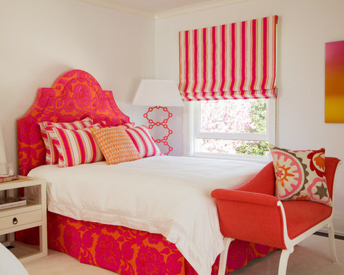 SaveEmail. Pink Orange Bedroom Ideas  Pictures  Remodel and Decor