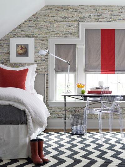 Contemporain Chambre by S. B. Long Interiors