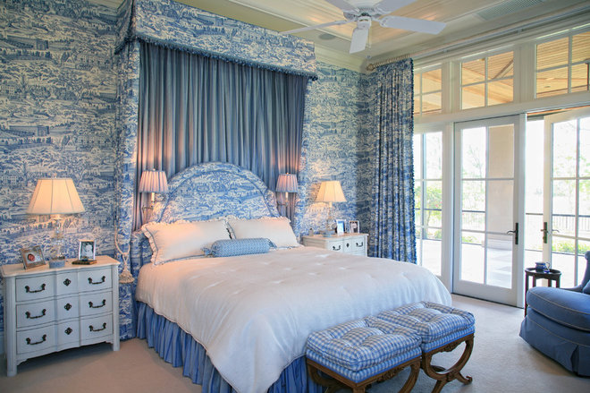 Traditional Bedroom by JMA INTERIOR DECORATION