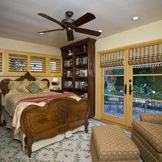 Traditional Bedroom by Peg Berens Interior Design LLC