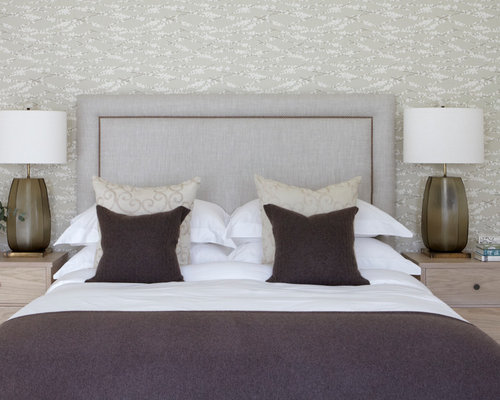Master bedroom wallpaper home design ideas renovations for Wallpaper designs for master bedroom