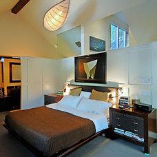 Contemporary Bedroom by Mark Dodge Design