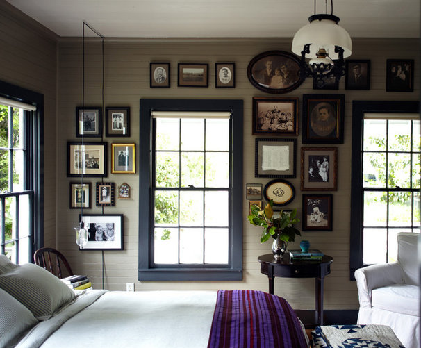 Farmhouse Bedroom by Tim Cuppett Architects
