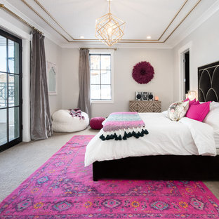 Pink And Black Bedroom Ideas And Photos Houzz