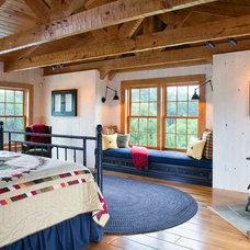 Farmhouse Bedroom by Rill Architects